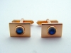 9ct Yellow Gold and Moonstone Cufflinks