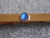 9ct Yellow Gold and Moonstone Tie Slide