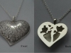 Anotomical Heart Pendent