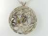 Bird in a Tree Pendent