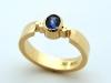 Triscel Saphire Ring