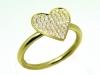 Heart of Diamonds Ring