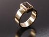 Smokey Quartz, 9ct Yellow Gold Ring